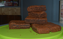Salted caramel chocolate brownies