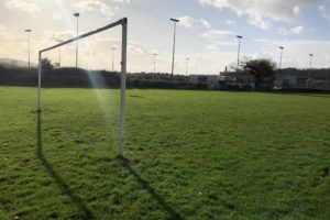Football pitch at Pencoed Rugby Football Club