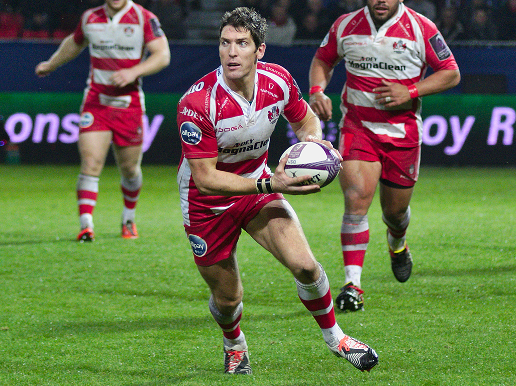 Hook spends his days running the show for Gloucester, rather than wearing the red of Wales