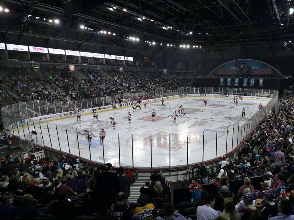 Belfast Arena.