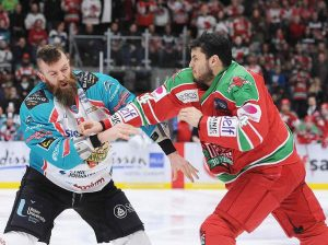 Cardiff Devils clash with rivals Belfast Giants.