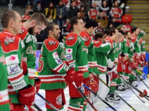 Cardiff Devils will be wearing their special edition green jerseys for this weekend's games.