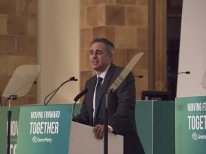 Jonathan Bartley at the Green Party Autumn Conference 2016.