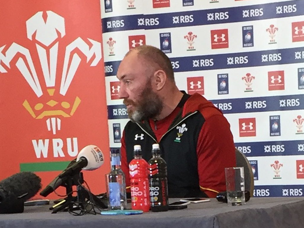 Forwards coach Robin McBryde suggested that sweeping changes wanted by the Welsh public will not happen