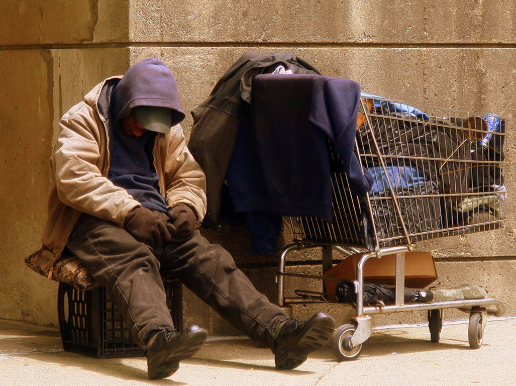 68 people were rough sleeping in August 2016- the highest figure ever recorded in the city.
