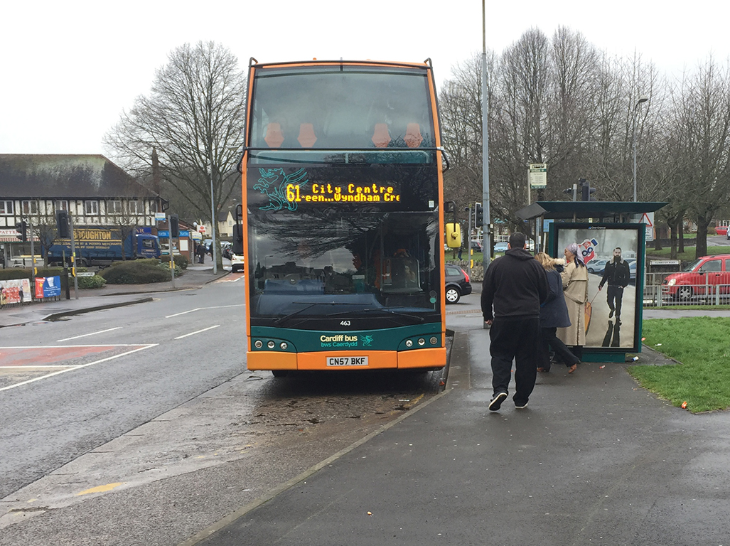 The 61 bus was on time at both 9.28am and 9.38am this morning
