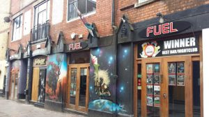 Womanby Street is home to venues including Fuel and Moon Bar
