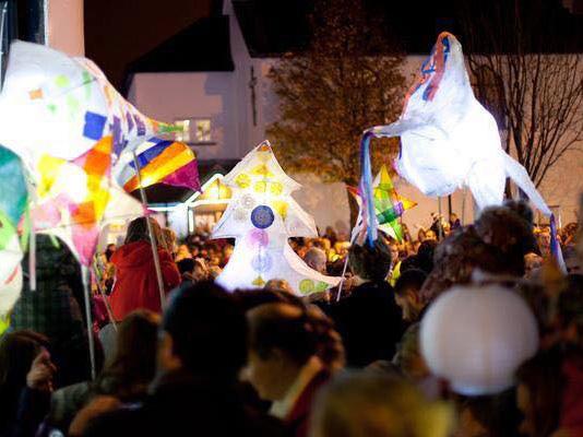 Lantern Parade in December 2016