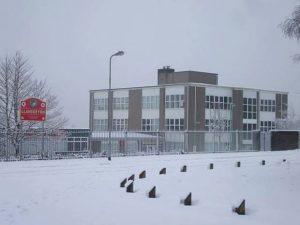 Cardiff School Snow