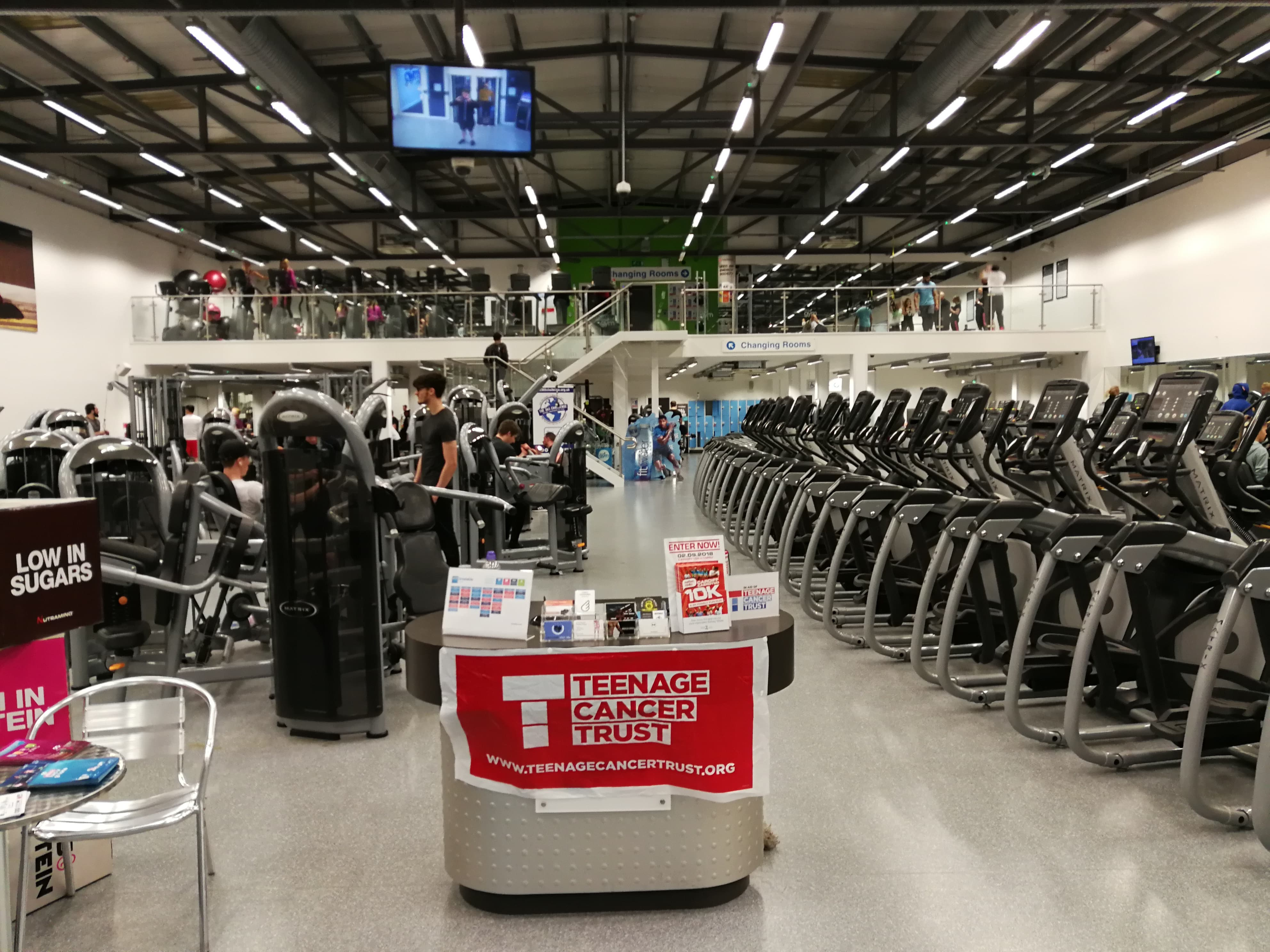 View of The Gym when you first walk in. Photo: Joe Atkins