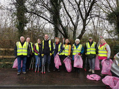 St Mellons Clean Up